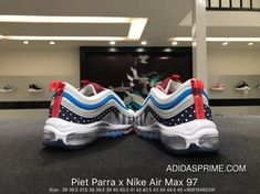 new style 02d75 2bfc7 Nikeoffwhitenike shoes · Nike Authentic Dutch Avant-garde Artist Piet Parra  X Air Max 97 Retro Bullet Zoom