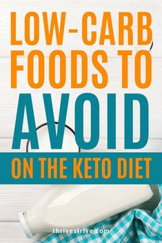 Not all low-carb foods are created equal! In fact, some can even mess up your keto diet. This post explains which low-carb foods to avoid on the keto diet. Lose Weight In A Month, Diet Plans To Lose Weight, Want To Lose Weight, How To Lose Weight Fast, Low Carb Weight Loss, Losing Weight, Health And Fitness Articles, Health Tips, Keto Fat