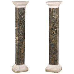 For Sale on - A good pair of Italian early century marble Columns on stepped bases with shaped matching tops. Columns For Sale, Marble Polishing, Marble Columns, Italian Marble, Moorish, Black Marble, Architectural Elements, Antique Furniture, 19th Century