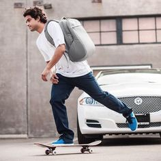 The perfect skateboarder's companion.  Incase ICON Pack. Incase Brand Ambassadors : Paul Rodriguez