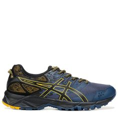 2c1e635193a1 ASICS Men s Gel-Sonoma 3 Trail Running Shoes (Blue Black Yellow)