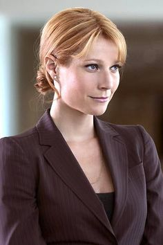 CEO of Stark Industries Pepper Potts, appointed by Stark after he grows despondent and reckless due to his impending death from palladium poisoning. This story line is taken from The Invincible Iron Man comic, though in different circumstances.