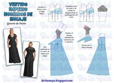 Abaya Pattern, Bodice Pattern, Dress Sewing Patterns, Clothing Patterns, Disney Toys, Couture, Blouse Dress, Modest Dresses, Sewing Clothes