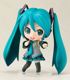 I came to the Vocaloid craze late, but she is really cute. #vocaloid #hatsunemiku