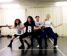 Little Mix dance rehearsal :)