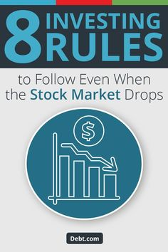No matter what happens in the stock market, these eight rules will help you invest wisely. Stock Market Investing, Investing In Stocks, Investing Money, Stocks For Beginners, Wealth Quotes, Creating Wealth, Money Market, Money Saving Tips, Money Hacks