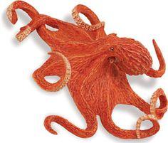 Safari Ltd 267229 Giant Octopus 20 CM Series Water Animals Safari, Giant Pacific Octopus, Water Animals, Handmade Items, Octopuses, Ebay, Tattoos, Google Search, Toys