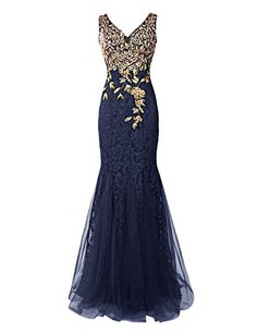 Dresstells® Long Lace Mermaid Prom Dress with Appliqu... https://www.amazon.co.uk/dp/B00XBHGTOA/ref=cm_sw_r_pi_dp_x_kpH7xbC5GHBYV