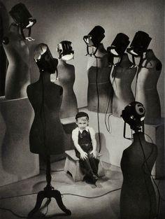 """idunn-my-ordinary-madness: """" 'L'enfant aux lumières' Lucien Lorelle, 1954. """""""