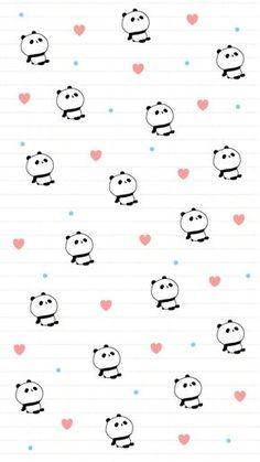 37 trendy wallpaper phone cute kawaii we heart it Cute Panda Wallpaper, Bear Wallpaper, Kawaii Wallpaper, Trendy Wallpaper, Pattern Wallpaper, We Bare Bears Wallpapers, Panda Wallpapers, Cute Cartoon Wallpapers, Iphone Backgrounds Tumblr