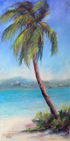 Magen's Bay Palm...Headed to the Caribbean -- Karen Margulis