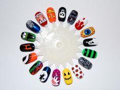 nails art halloween - Buscar con Google
