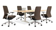 Conference tables and chairs - #conference #meeting #tables #chairs # board #room - Learn more at www.ofw.com Conference Meeting, Conference Table, Office Furniture Warehouse, Table And Chairs, Tables, Furniture Making, Rooms, Board, Home Decor