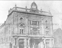 MCL/3/16 Black and white photograph showing the Theatre Royal, Corporation Street, St.Helens c.1890. MCL - Clare Collection 3 - Black and white photographs and drawings of St.Helens