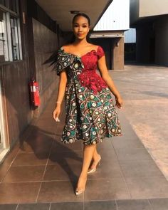 Short African Dresses, Latest African Fashion Dresses, African Print Fashion, Africa Fashion, African Fashion Ankara, African Attire, African Wear, African Style, Fashion Poses