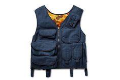 Junya Watanabe Drops Functional Checked Wool Vest: Facing this seasons military-trend head on. Wool Vest, Vest Jacket, Military Trends, Junya Watanabe, Utility Jacket, Street Wear, Menswear, Drop, Mens Fashion
