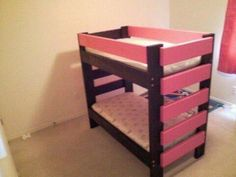 Toddler beds,Toddler bunk beds,Toddler lofts | Do It Yourself Home Projects from Ana White