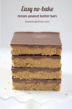 Homemade Reeses - RECiPE RADAR | I Heart Naptime's