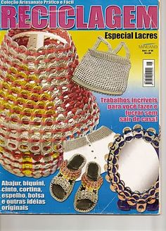 revista descargada de tutos anillas reciclaje