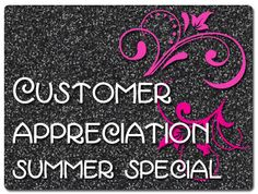 June is CUSTOMER APPRECIATION MONTH!!. For every $100 purchased in June you'll be able to choose a FREE GIFT! ~Travel Roll-Up Bag ~Microdermabrasion Set ~Skinvigorate Cleansing Brush ~Glamour Brush Collection Orders received by June 14th will receive a FREE eye shadow or lipstick/lipgloss. Thank you for your time and loyalty for all these years! www.marykay.com/brookeramsey **This offer is only valid through me** **You cannot currently have a consultant. Although, if you'