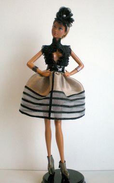 PAIN D'EPICE - POUPEES FASHION ROYALTY - BARBIE : Robe par marylou-creations