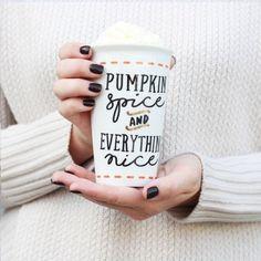 #coffee #autumn #pumpkinspiceandeverythingnice