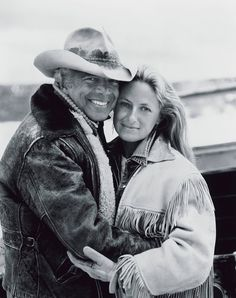 ~ Ralph and Ricky Lauren.  Just love her jacket and his, too.  This one for the West! ~