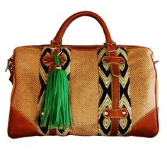 Lola Wayuu Handbag...Um, can I get this without that ridiculous green tassel?