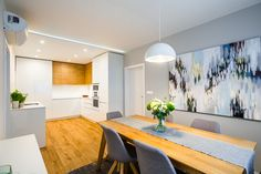 Conference Room, Divider, Loft, Living Room, Kitchen, Table, Furniture, Home Decor, Cooking