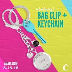 Another FIRST for Origami Owl! Check our *new* Bag Clip + Key Chain! Customize your look with an in{script}ions™ Solid Twist Living Locket™! Carry your story with you in a brand new way! Available 8.18.15! DreamyAngel.origamiowl.com