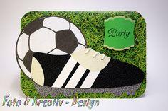 Fußball+-+Party+-+Einladung+von+Foto&Kreativ-Design+auf+DaWanda.com