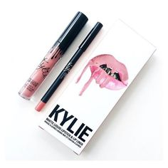 KOKO K Lip Kit by Kylie Cosmetics ❤ liked on Polyvore featuring beauty products