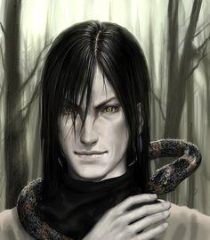 villain, vertical pupils, naruto / Orochimaru by iDNAR.deviantart.com