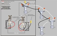 How To Wire Recessed Lighting Awesome ❧ 3Way Switch Diagram Multiple Lights Between Switches Design Inspiration