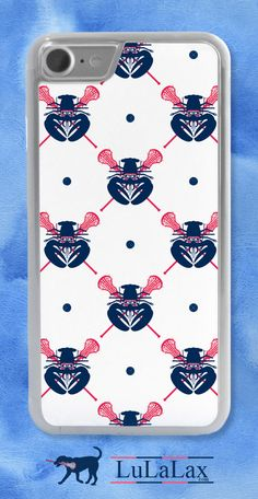 Show your lacrosse style while rocking this iPhone case on your phone! How cute is this lobster lax phone case?!