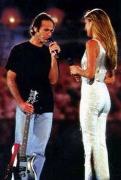 Jean-Jacques Goldman et Céline Dion
