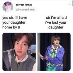 I cant stop laughing at these. Bts Memes Hilarious, Funny Relatable Memes, Bts Tweet, Band Memes, Worldwide Handsome, Bts Jin, Bts Boys, Kpop Groups, Seokjin