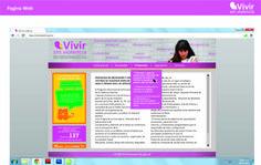 Pagina Web- Vivir sin violencia