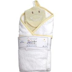 Hooded Towel & Washcloth Set - Under the Nile Organics