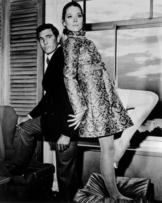 George Lazenby and Diana Rigg (On Her Majesty's Secret Service - 1969)