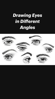 Art Drawings Beautiful, Art Drawings Sketches Simple, Pencil Art Drawings, Realistic Drawings, Pencil Portrait Drawing, Eye Drawings, Eye Drawing Tutorials, Sketches Tutorial, Drawing Techniques