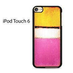 Rothko White Center Ipod Touch 6 Case