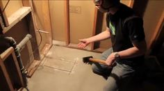 How to move plumbing in concrete. http://youtu.be/nYZpkW3vdTU