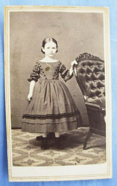 Meet the 19th century version of my 7yo... right down to the little smile and set of the shoulders!
