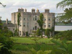 Glin Castle, Co. Limerick - Owned by the family of the late Knight of Glin, Desmond Fitzgerald. I got to meet the Madam of Glin, who gave me a private tour of her residence, Glin Castle.