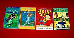 4 Chapter Books Hank Zipzer Matt Christopher 3rd 4th Grade Baseball FREE Ship