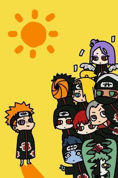 Naruto Kakashi, Pain Naruto, Anime Naruto, Naruto Akatsuki Funny, Naruto Comic, Naruto Cute, Otaku Anime, Cute Cartoon Characters, Naruto Characters