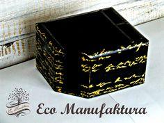 organizer na biurko decoupage Eco Manufaktura