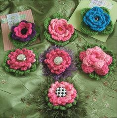 Sunny Monday and more flowers - loads of free flower patterns