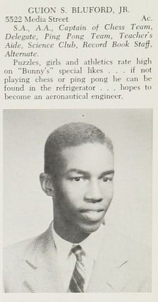 Find yearbook pictures from the 1960 Overbrook High School yearbook for free, or buy a reprint. Recapture your memories, share with your family, and reconnect with your classmates. African American Inventors, African American History, Space Shuttle Challenger, High School Yearbook, Yearbook Photos, Nasa Astronauts, School Memories, Recorded Books, Black History